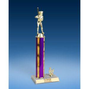 "Softball Sport Figure Trim Trophy 14"""