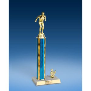 "Swimming Sport Figure Trim Trophy 14"""