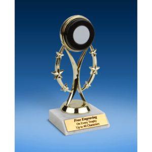 "Hockey 7"" Colored Sport Figure Trophy"
