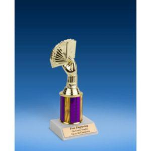 """Poker Sport Figure Trophy 8"""""""