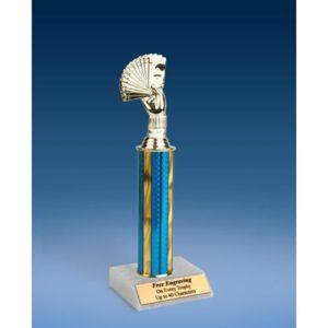 """Poker Sport Figure Trophy 12"""""""