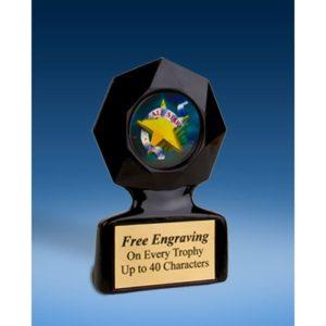 All Star Black Star Acrylic Trophy