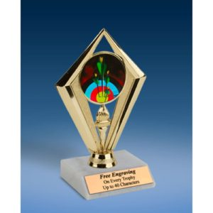"""Archery Sport Diamond Trophy 6"""""""