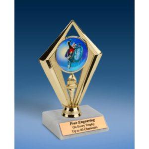 """BMX Sport Diamond Trophy 6"""""""