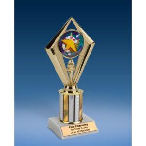"""10K Sport Diamond Trophy 8"""""""