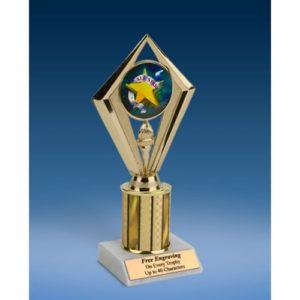 "All Star Sport Diamond Trophy 8"""