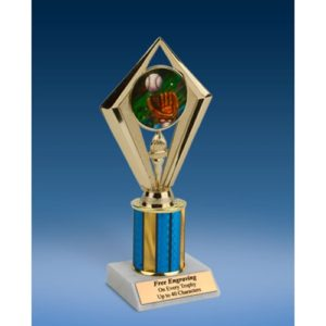 Baseball 2 Sport Diamond Trophy 8""