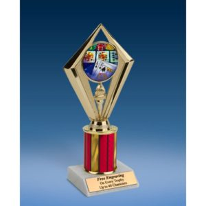 "Cards Sport Diamond Trophy 8"""