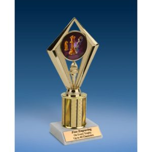 "Chess Sport Diamond Trophy 8"""