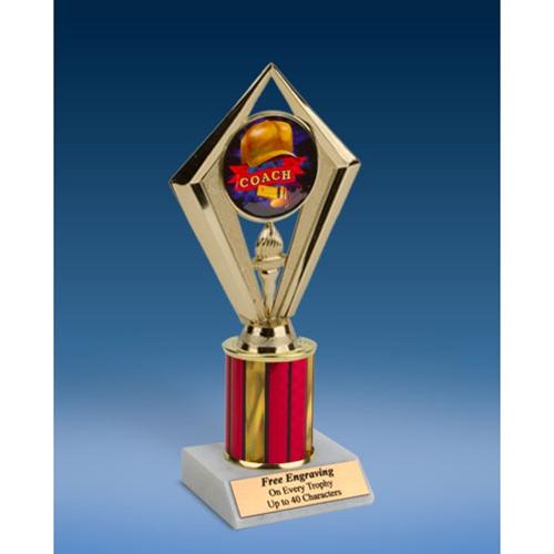 "Coach Sport Diamond Trophy 8"""