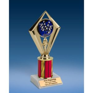 Derby Sport Diamond Trophy 8""