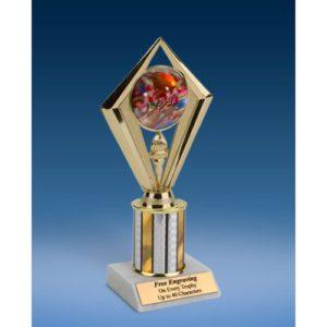 "Football 2 Sport Diamond Trophy 8"""