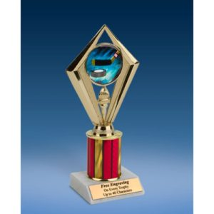 Hockey Sport Diamond Trophy 8""