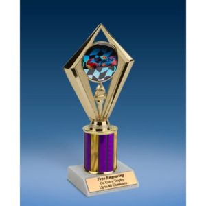 Racing Sport Diamond Trophy 8""