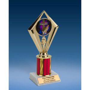 "Religion Sport Diamond Trophy 8"""