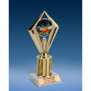 "Sales Sport Diamond Trophy 8"""