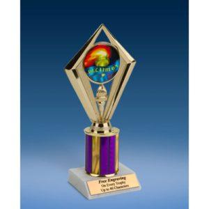 "Decathlon Sport Diamond Trophy 8"""