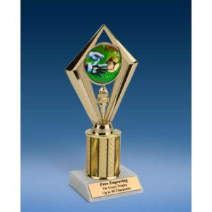 """Soccer 3 Sport Diamond Trophy 8"""""""