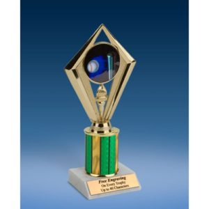 "Softball Sport Diamond Trophy 8"""