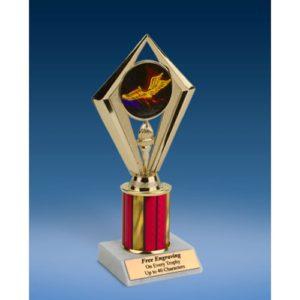 "Track Sport Diamond Trophy 8"""
