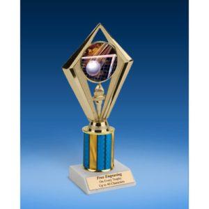 "Volleyball Sport Diamond Trophy 8"""