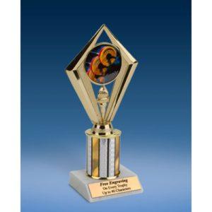 "Weightlifting Sport Diamond Trophy 8"""