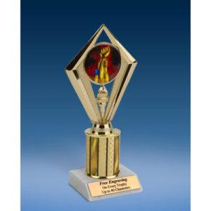 """Wrestling Sport Diamond Trophy 8"""""""