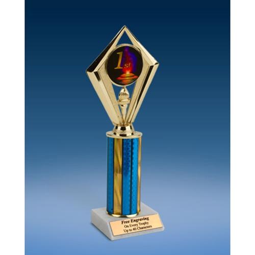 "1st Place Sport Diamond Trophy 10"""