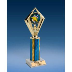 "All Star Sport Diamond Trophy 10"""