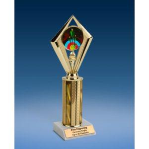 """Archery Sport Diamond Trophy 10"""""""