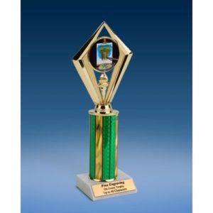 """Art Sport Diamond Trophy 10"""""""