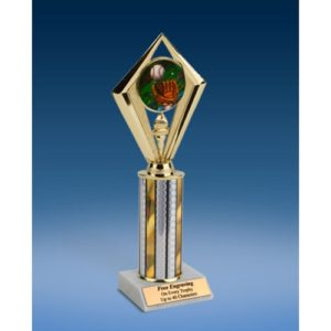 Baseball 2 Sport Diamond Trophy 10""