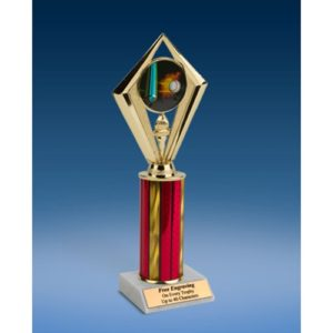 Baseball Sport Diamond Trophy 10""