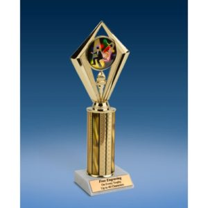 Dance Sport Diamond Trophy 10""