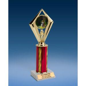 """Dog Sport Diamond Trophy 10"""""""