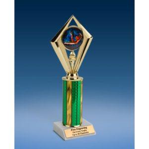 """Gymnastics Female Sport Diamond Trophy 10"""""""