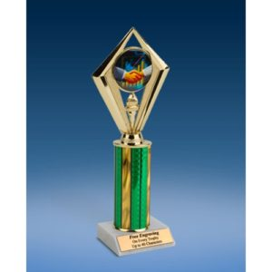 "Sales Sport Diamond Trophy 10"""
