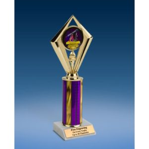 "Science Sport Diamond Trophy 10"""