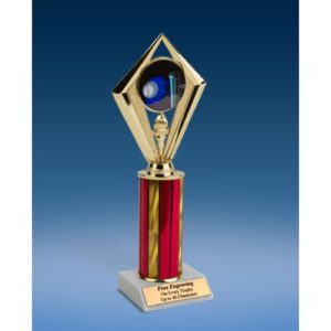 "Softball Sport Diamond Trophy 10"""