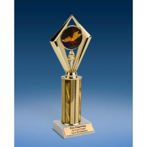 "Track Sport Diamond Trophy 10"""