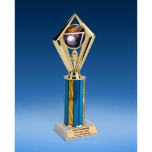 "Volleyball Sport Diamond Trophy 10"""