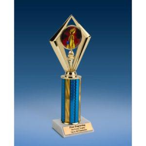 """Wrestling Sport Diamond Trophy 10"""""""