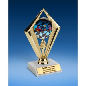 Racing Sport Diamond Trophy 6""