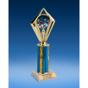Racing Sport Diamond Trophy 10""