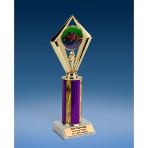 "Hot Rod Sport Diamond Trophy 10"""