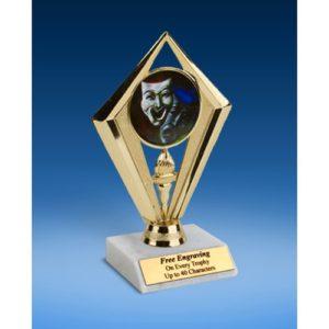 """Drama Sport Diamond Trophy 6"""""""