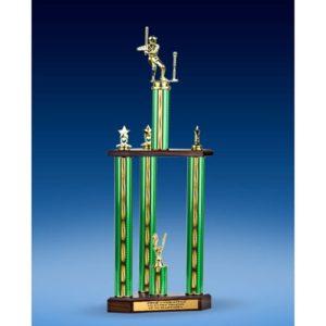 "T-Ball Sport Figure Three-Tier Trophy 28"""