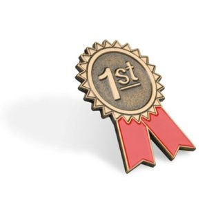 1st Place Lapel Pin