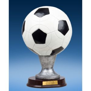 Official Size Soccer Ball Trophy