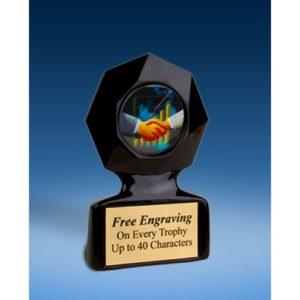 Sales Black Star Acrylic Trophy